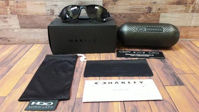 Óculos Oakley Carbon Shift Preto Polarizado - Novo e Importado - Foto 6