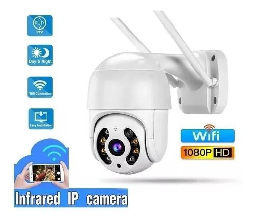Câmera 1080p Infravermelho Wifi