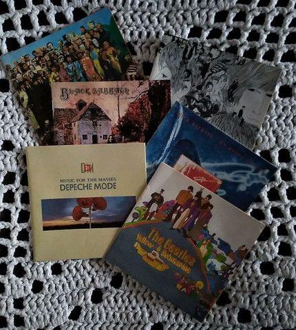 6 Encartes de CD's de rock - Foto 2