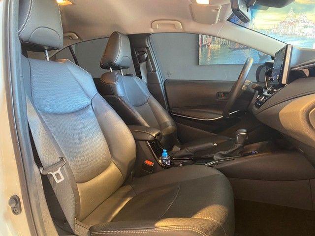 Toyota Corolla Altis 1.8 Hybrid 2020,Configuração Linda,Impecável  - Foto 12