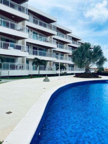 Apartamento três quartos, alto padrão, lazer completo, Porto das Dunas! - Foto 2