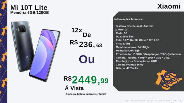 Mi 10T Lite 128gb - Rede 5G | Original Xiaomi - Versão global | Lacrado com garantia - Foto 5
