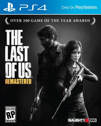 The Last of Us Remastered Game Jogo PS4 Lacrado