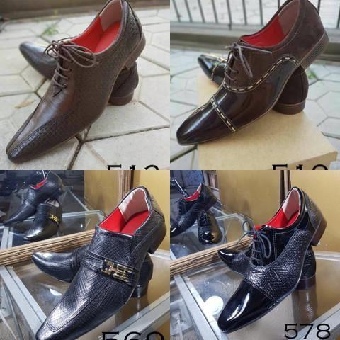 5c8f0ec928d7a Sapatos social masculino - luxo - feitos artesanalmente - COURO PURO - Foto  4