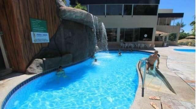 Apartamento temporada caldas novas, cobertura Golden Dophin Grand Hotel