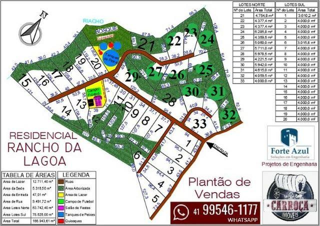 Clube de Campo Rancho da Lagoa a partir de 4.000 m² - Foto 15