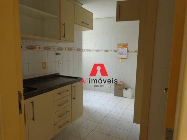 Apartamento com 3 dormitórios para alugar, 82 m² por r$ 1.850,00/mês - 7º bec - rio branco - Foto 5