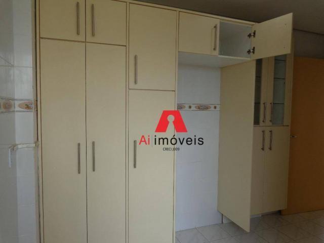 Apartamento com 3 dormitórios para alugar, 82 m² por r$ 1.850,00/mês - 7º bec - rio branco - Foto 7