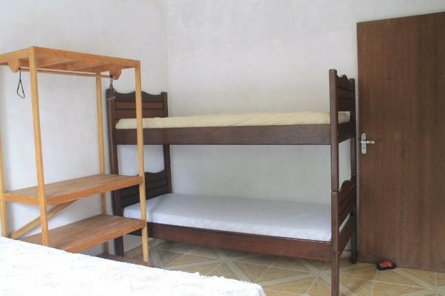 Aluguel Temporada casa Itapoá SC* Sobrado 4 quartos 2 banheiro mobiliada - Foto 12