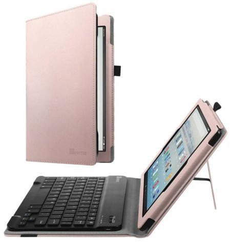 Amazon Fire HD 10 Tablet 10.1? com Alexa Hands-free 1080p 32GB + Fintie Teclado Case - Foto 3