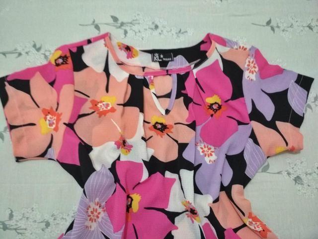 Blusa de crepe - Foto 2