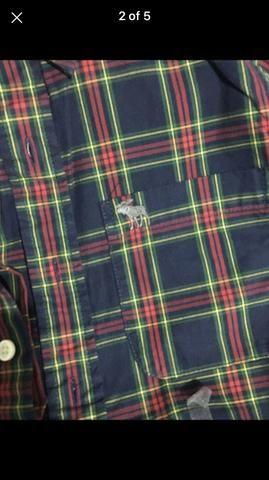 Camisa xadrez Abercrombie - Foto 4