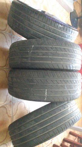 Vendo aros 17 pneus 205_50_R17. não respondo chat !