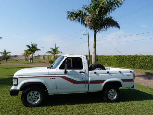 Gm - Chevrolet D-20 completa turbo de fabrica