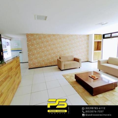 Apartamento com 3 dormitórios à venda, 90 m² por R$ 399.000,00 - Bessa - João Pessoa/PB - Foto 7