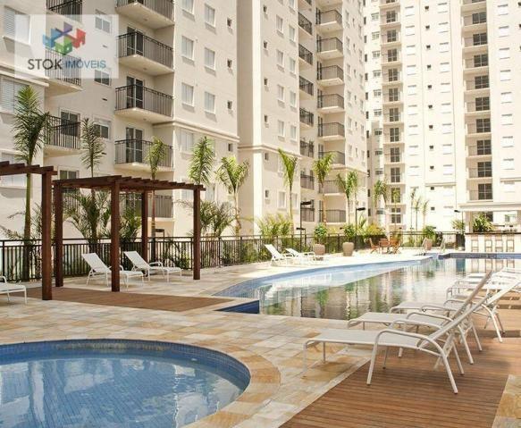Apartamento com 3 dormitórios à venda, 67 m² por R$ 388.500 - Vila Augusta - Guarulhos/SP - Foto 3