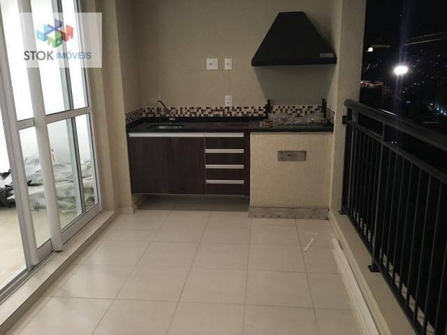 Apartamento com 2 dormitórios à venda, 80 m² por R$ 560.000 - Jardim Flor da Montanha - Gu - Foto 2