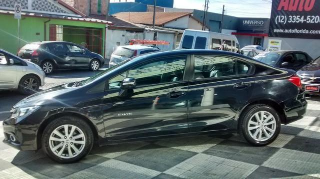 Civic LXR 2.0 Flex Aut. Ano 2014 Completo Bx km * Lindão * - Foto 3