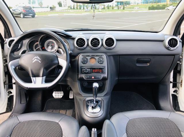 Citroen C3 Exclusive 1.6 automático 2013 Vendo, troco e financio - Foto 6