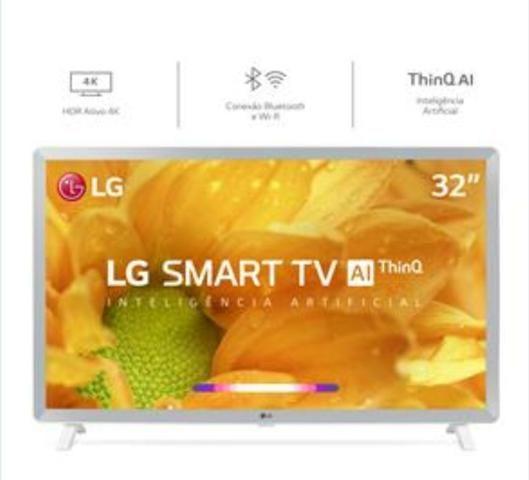 Smart TV LG na caixa