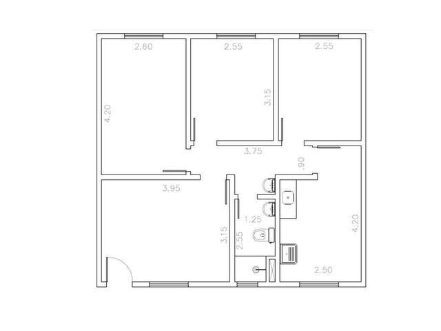 Apartamento 3/4 com preço de 2/4 64m² - Foto 8