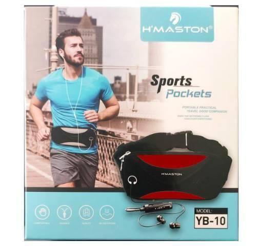 Pochete Impermeável Sports com Saída de Fone H'maston YB-10