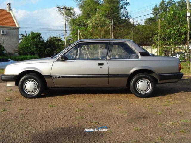 Monza SL 1990 1.8 Marrom Alabama - Rara originalidade e integridade. Vale a pena ver! - Foto 10