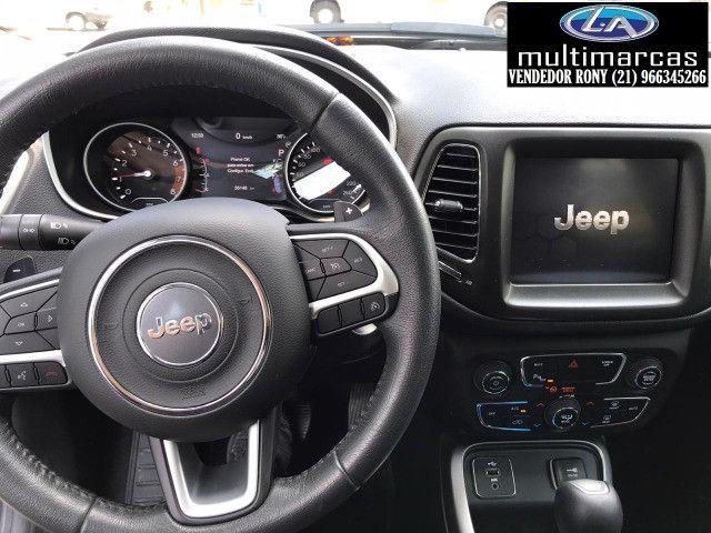 Jeep Compass Longitude 2.0 Aut. 2019. Entrada a partir de 20.500,00 + 48x de 1.699,00 - Foto 7