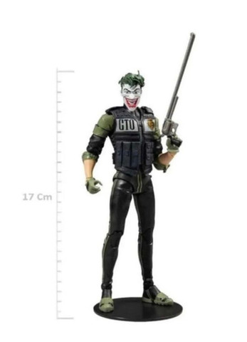 Boneco The Joker White Knight Dc Comics Multiverse Mcfarlane - Foto 3