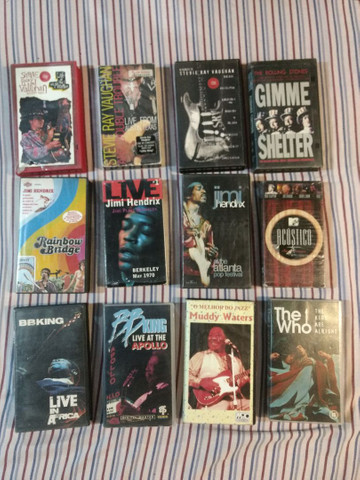 Clássicos do ROCK em VHS