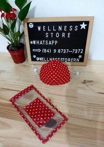 Kit Máscara com capa protetora para celular com porta-cartão personalizada - Foto 6