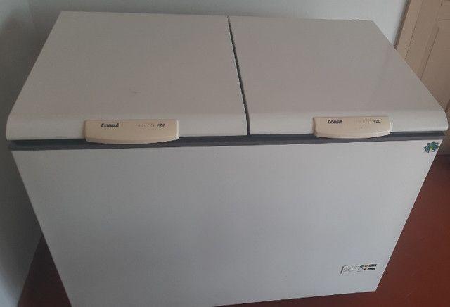 Freezer Cônsul 420 L - Seminovo