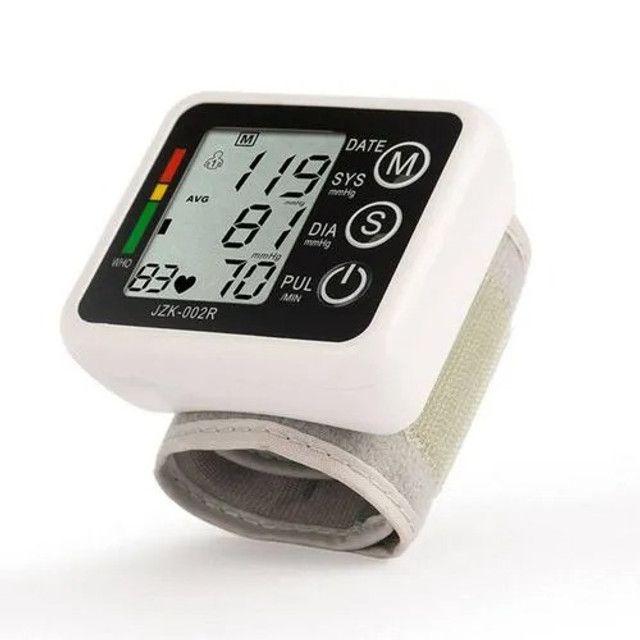 Medidor De Pressão Arterial Digital Aparelho Automático Novo - Loja Natan Abreu - Foto 3