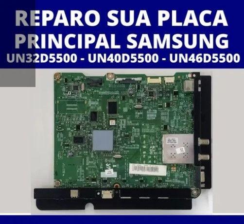 Placa Principal Samsung Unxxd5500/ Un40d5500/ Un46d5500