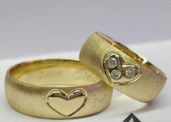 Alianças de moeda antiga,Prata,Ouro - Foto 5