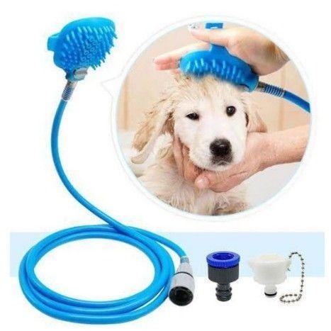 Ducha Massageadora Para Banho Em Cães E Gatos - Produto Novo  - Foto 5