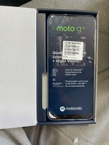 Moto g 10 ( na caixa )