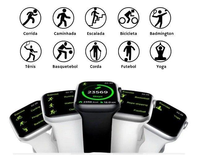 Smartwatch W46 Tela Infinita  **Promoção R$ 199,00 á vista!!** - Foto 4