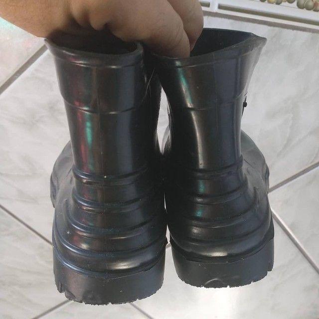 Bota sapato N 37,Cano curto,Borracha,Crival,NOVA/ACEITO TROCA - Foto 3