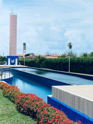Apartamento três quartos, alto padrão, lazer completo, Porto das Dunas! - Foto 4