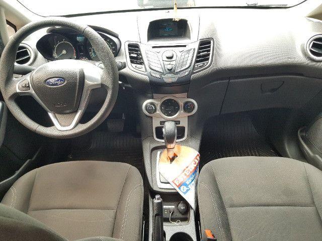 Ford Fiesta hatch 1.6 flex automático completo - 2014 - Foto 11