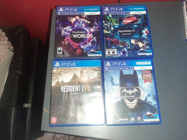 PS4 + VR + JOGOS R$ 3.100 - Foto 3