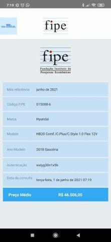 Hb20 Confort 1.0 Flex 2018 - Lindo ! Oportunidade  - IPVA Pago - Foto 18