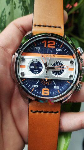 Relógio Premium importado à pronta entrega! Novo e com garantia! - Foto 3