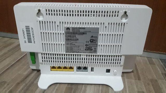 Roteador Huawei Fibra Ótica  - Foto 2