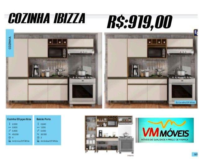Armário Ibizza Entrega