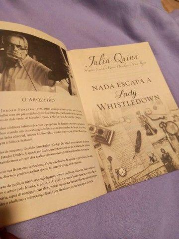 Livro Julia Quinn - Foto 3
