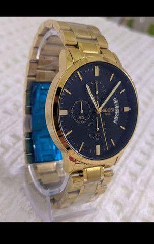 Relógio nibosi (promoção, garantia de 3 meses.)