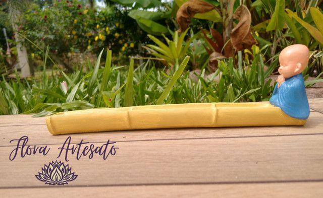 Porta incenso - Incensário Buda - Foto 2