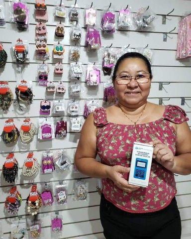 Máquina Point Mini Chip Mercado_ Pago Não precisa de celular - Foto 4